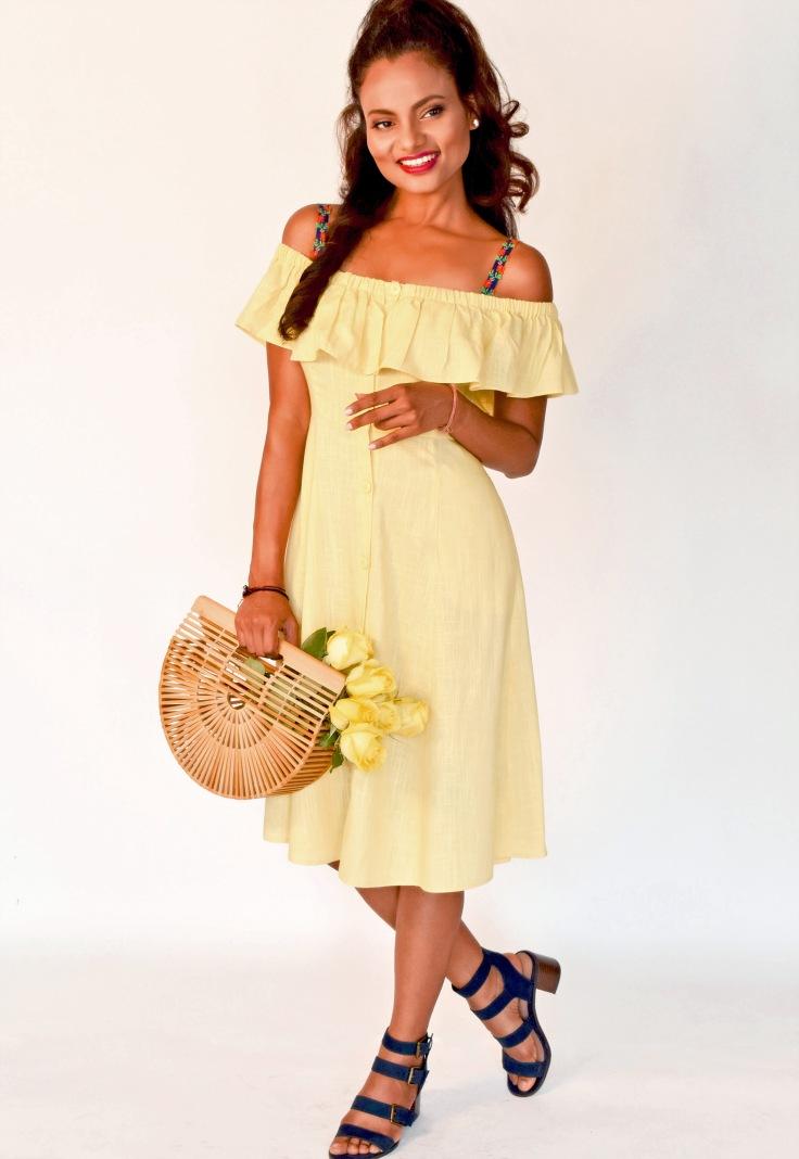 braserie_shalini_floralstraps_yellowdress_wrose_fullshot_july2018